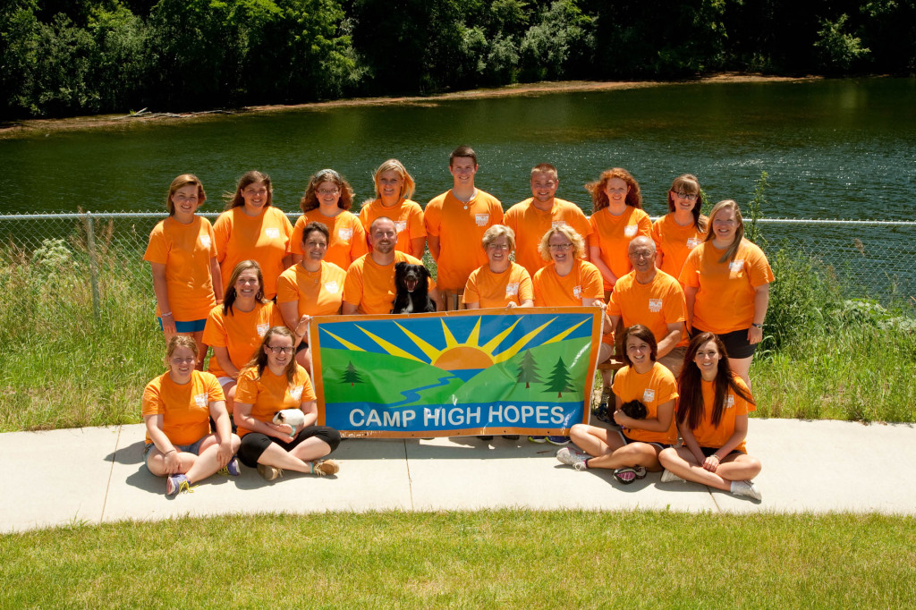2013 Summer Staff Top row (left to right): Georgie Wiles, Randi Barge, Melinda Kimball, Robyn Vermeer, Daniel Pearson, Neil Marr, Lauren Millar, Ellie Howe, & BreAnna Hardin. Middle row (left to right): Ali Langseth, Samantha Martin, Jonathan Mauk (holding Belle), Donna Shea, Meghan McClure, & Gary Turbes, Founder. Bottom row (left to right): Becky Ryan, Jackie Blackwell (holding Roxie), Mallory Hinkeldey (holding Scottie), & Kara Howie. Not pictured: Katie Heynen.